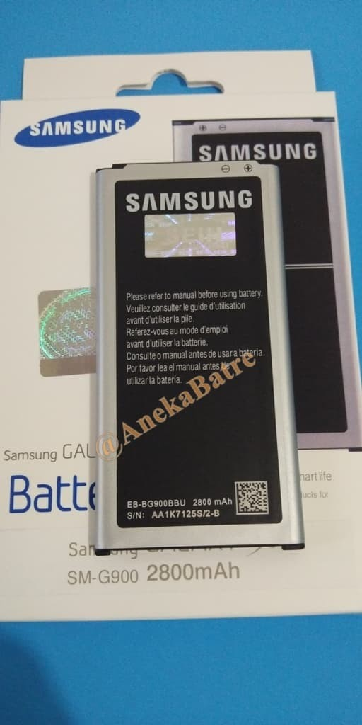 harga Original 100% baterai batre batere battery samsung galaxy s5 g900 ori Tokopedia.com