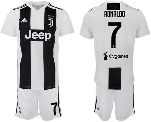 9485a53e6 Jual Murah Jersey Baju Bola Anak RONALDO  7 Juventus Home 18 19 ...