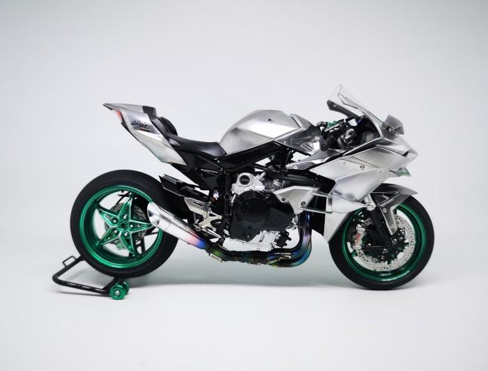 Kawasaki Ninja H2r >> Jual Modelkit Tamiya Kawasaki Ninja H2r Skala 1 12 Kab Banyumas Sibe Tokopedia