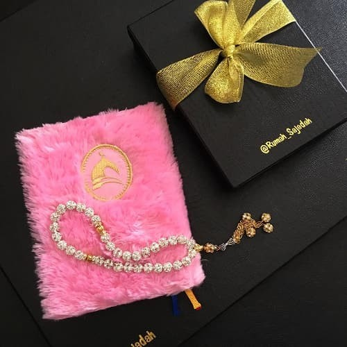 Jual Al Quran Syaffa Pink Muda Free Tasbih Jakarta Utara Aritonangmarket Tokopedia