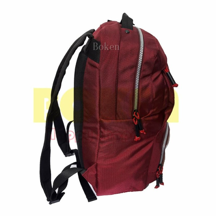 Tas Ransel Laptop Bodypack 2857 Maroon R.Lt 14 Excellency Original