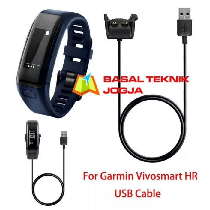 harga Kabel data charger usb dock jam garmin vivosmart hr hr+ approach x40 Tokopedia.com