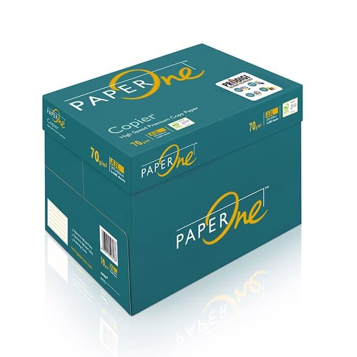 Paperone kertas hvs / fotocopy a3 70 gram - 1 box isi 5 rim