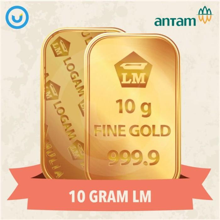 Foto Produk UD - Emas Batangan LM Antam 24K Berat 10 Gram - Terima Buyback dari Usahadinar