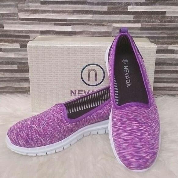 harga Sepatu sport nevada warna ungu Tokopedia.com