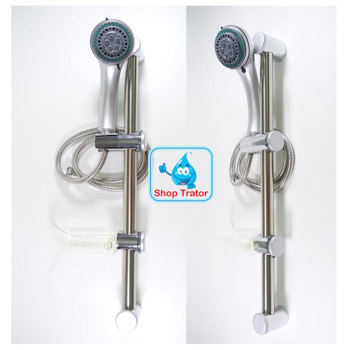 harga Shower tiang set column shower rail tiang shower mandi Tokopedia.com