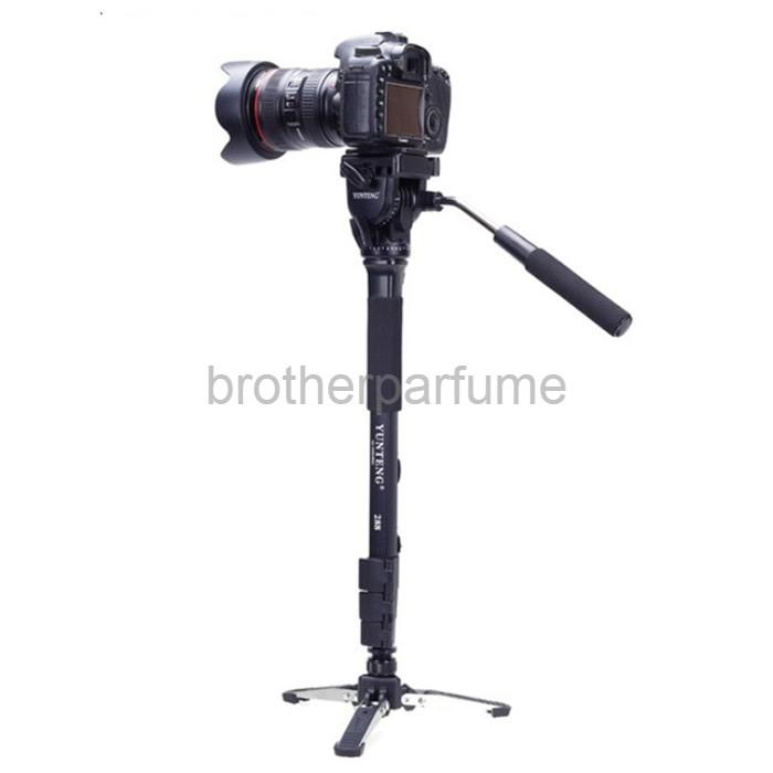 Foto Produk Best Seller Yunteng Monopod Unipod Pan Head for DSLR VCT 288 dari Brotherparfume