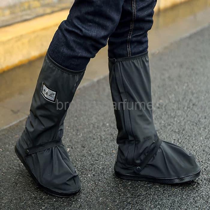 Foto Produk Best Seller Cover Hujan Sepatu dengan Reflektor Cahaya Size S dari Brotherparfume