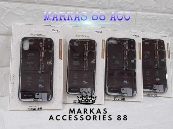 harga Iphone 8 delapan eight plus tempered case motif gambar mesin belakang Tokopedia.com