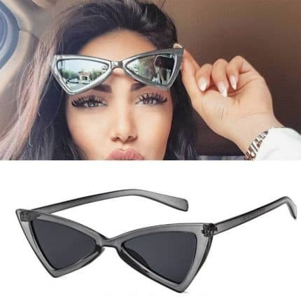 211a698d0e Jual Kacamata - Triangle Cat Eye Sunglasses Tide Ladies Glasses T ...