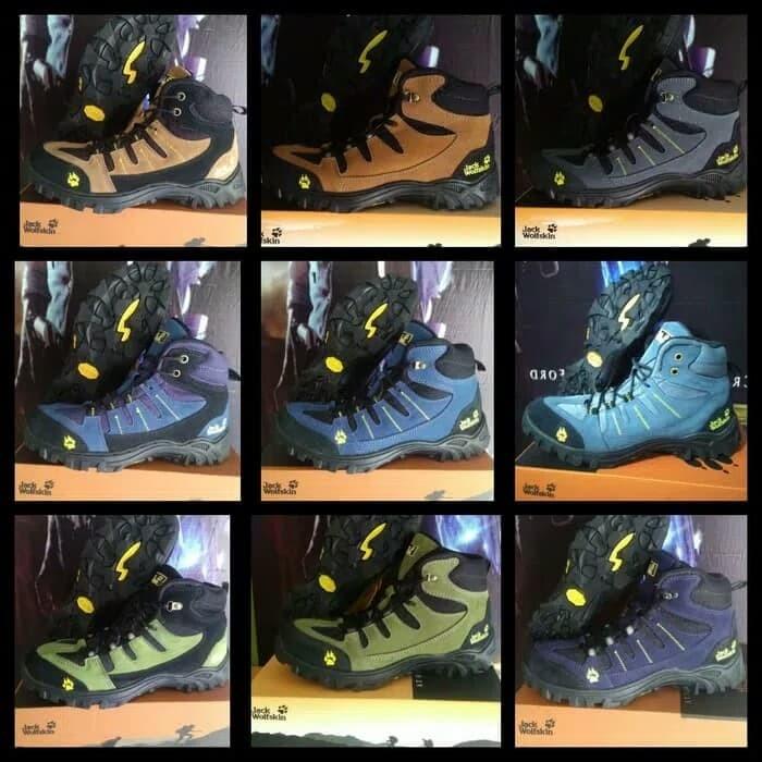 harga Sepatu jack wolfskin sepatu outdoor sepatu safety sepatu pria tracking Tokopedia.com
