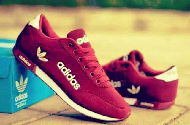 Jual Sepatu Sport Cewek Wanita Adidas Sneakers Olah Raga Kets Nike ... a025279edd