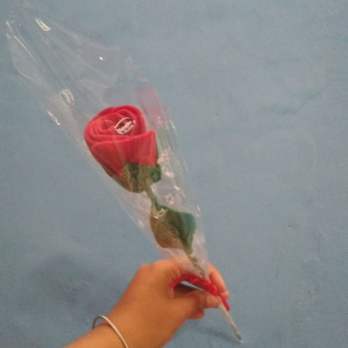 Jual Setangkai Bunga Sudah Termasuk Plastik Bungkusnya Kab Semarang Aul Collection Tokopedia