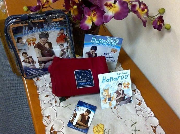 Harga Promo Hanaroo Baby Wrap Polos Gendongan Bayi Nyaman Carrier