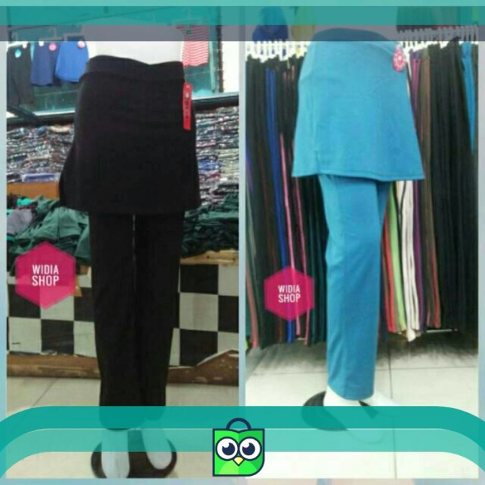 Celana senam rok panjang / celana senam rok / celana senam wanita rok
