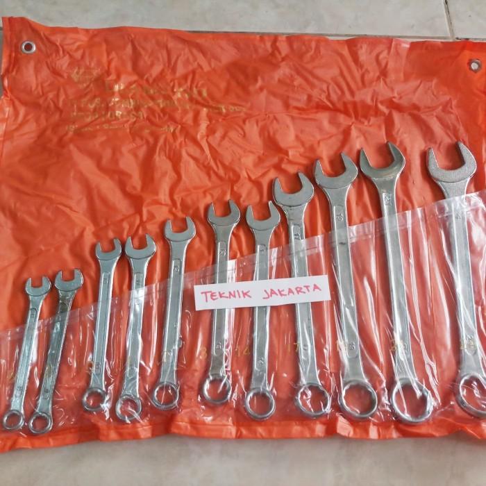 Kunci Ring Pas set 11 pcs 8 - 24 mm Diamond