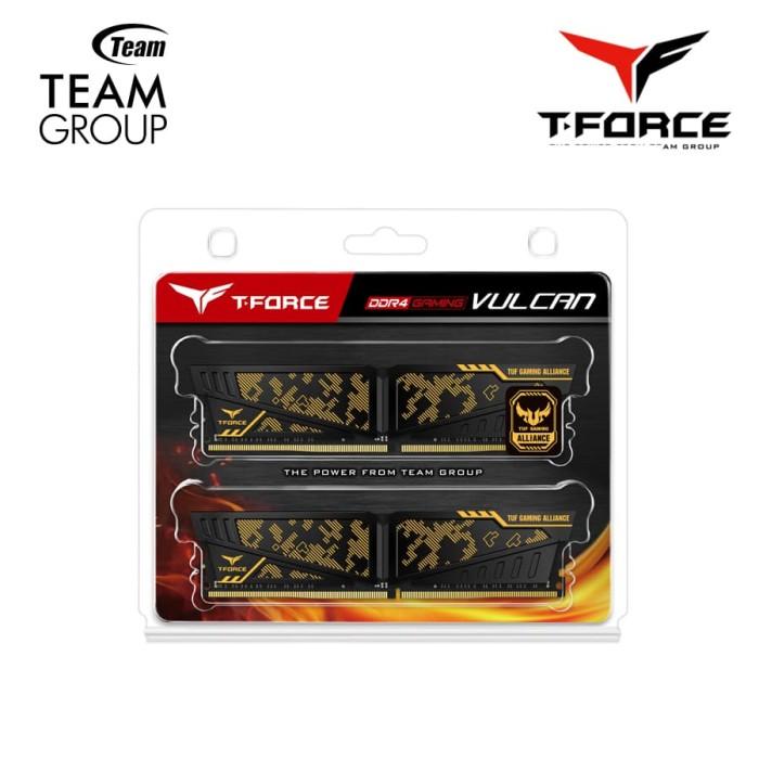 harga Teamgroup t-force vulcan memory ddr4 2x16gb pc3600mhz ( 28800 ) Tokopedia.com
