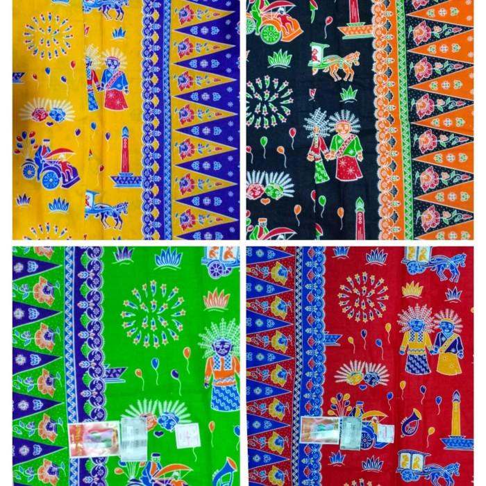 Jual Kain batik betawi halus primisima cap cent   motif betawi ondel ... 349de2fdcd