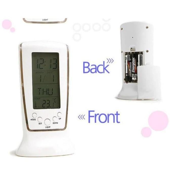 Jual Jam Meja Multifungsi Weker Digital dilengkapi pengukur suhu ... a6c912c99d