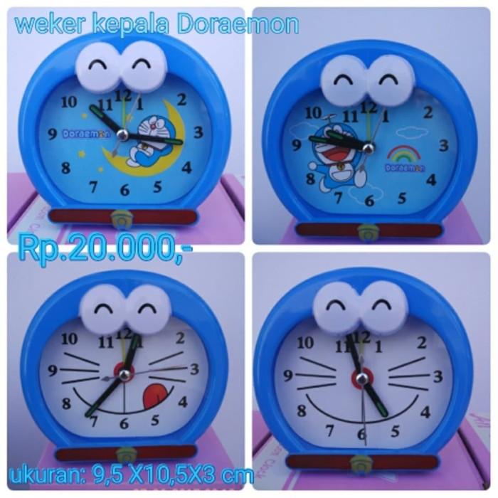 jam weker jam meja karakter kepada Doraemon