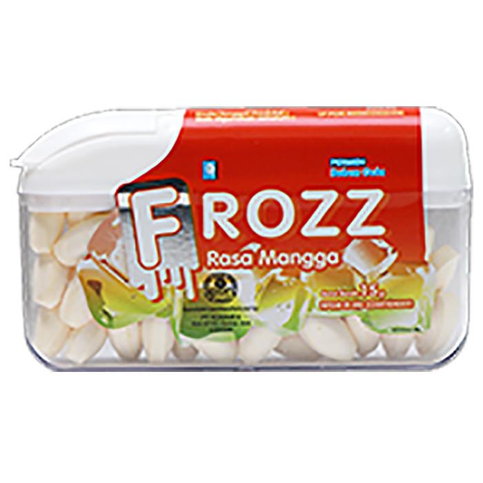 FROZZ Mango mint permen bebas gula rendah kalori & dingin menyegarkan