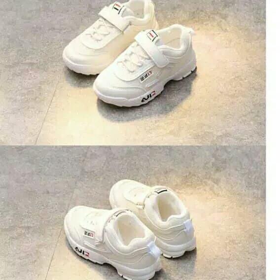 ... Sepatu Anak Sport sekolah Merk Fila Untuk Anak Laki - Laki Dan Perempuan  - Blanja ... c598c544b9