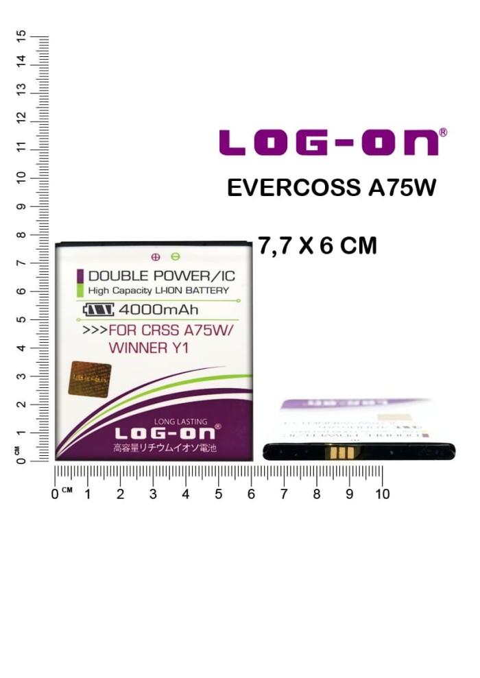 harga Baterai Logon Evercoss A75w Winner Y1 Blanja.com