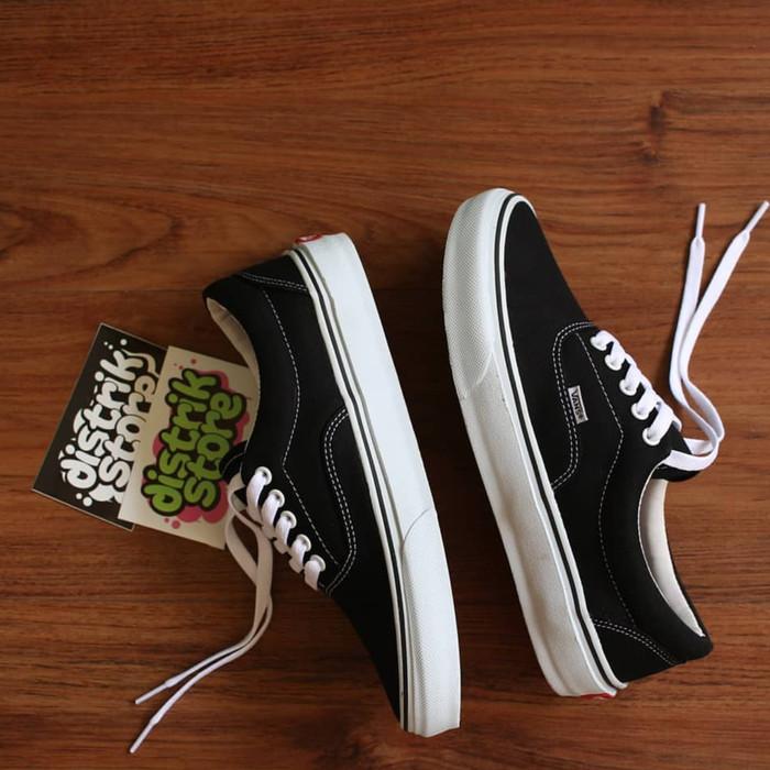 Jual Vans new era black white(premium