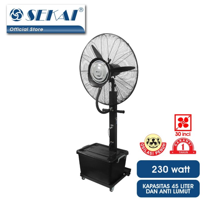 harga Sekai kipas angin industri  kabut  ist 3076 m Tokopedia.com