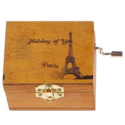 harga Kotak musik klasik vintage wooden music box Tokopedia.com