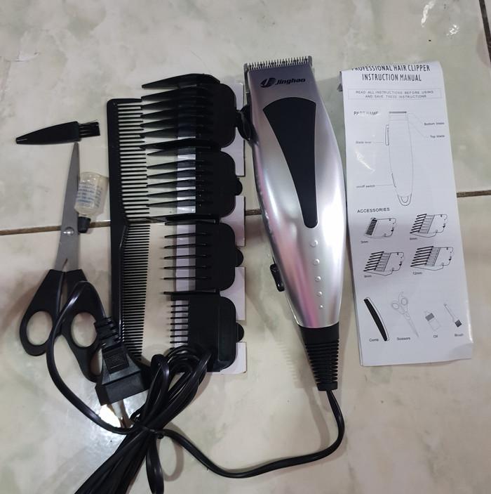 Detail Gambar Mawar88shop Jinghao Alat Cukur Rambut - Hair Clipper Terbaru.  Source · JINGHAO JH-4607 MESIN ALAT CUKUR RAMBUT f9baec3aab