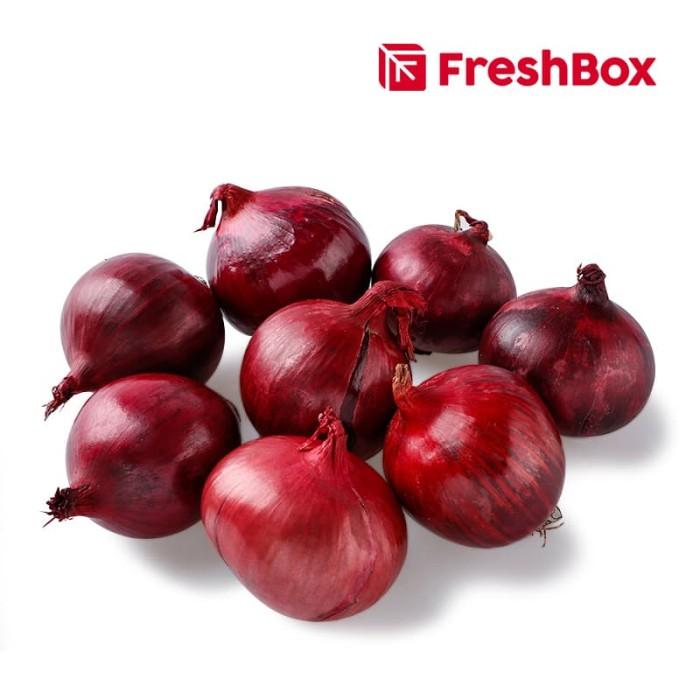 Foto Produk FreshBox Bawang Bombay Merah 1 kg dari FreshBox