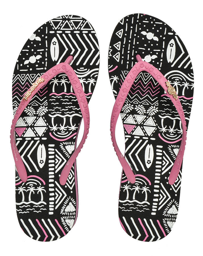 harga Surfer girl sunset pattern heels sandal Tokopedia.com