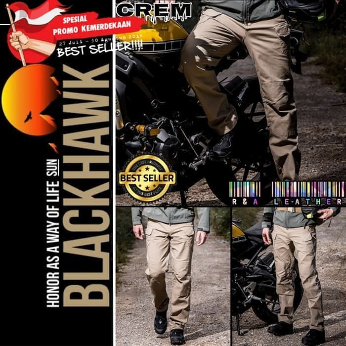 CELANA PANJANG PRIA ARMY TACTICAL BLACKHAWK OUTDOOR CELANA GUNUNG COWO