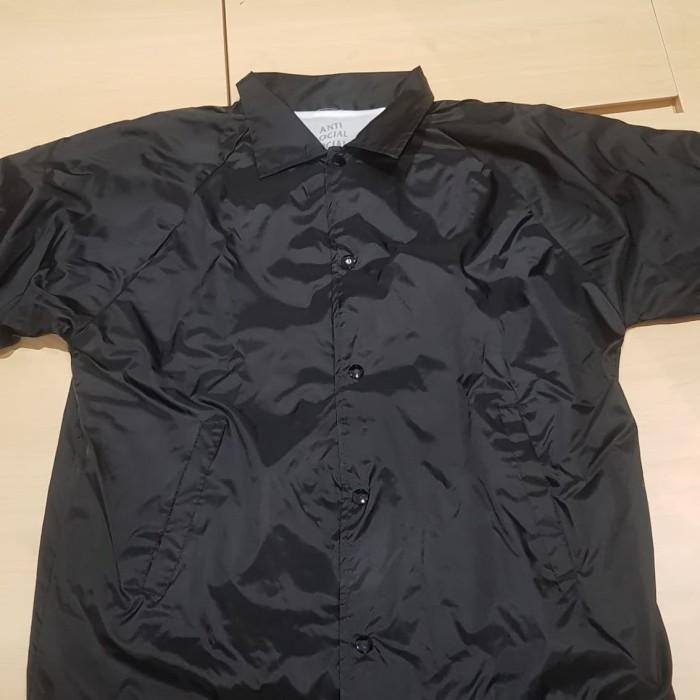 3cf8879b268b Jual Blair Witch Black Coach Jacket ASSC (Anti Social Social Club ...