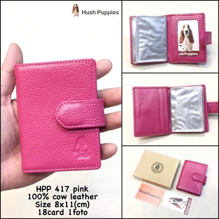 dompet kartu hush puppies 417 pink replica dompet cowok dompet pria