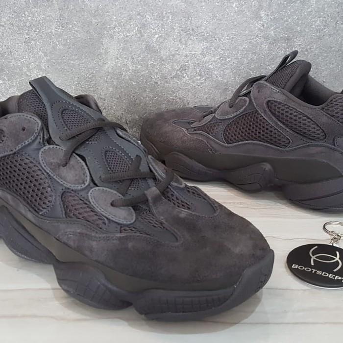 new styles 2edac 27723 Jual Adidas Yeezy 500 - Utility Black - Futsal Boots/Boots Dept | Tokopedia