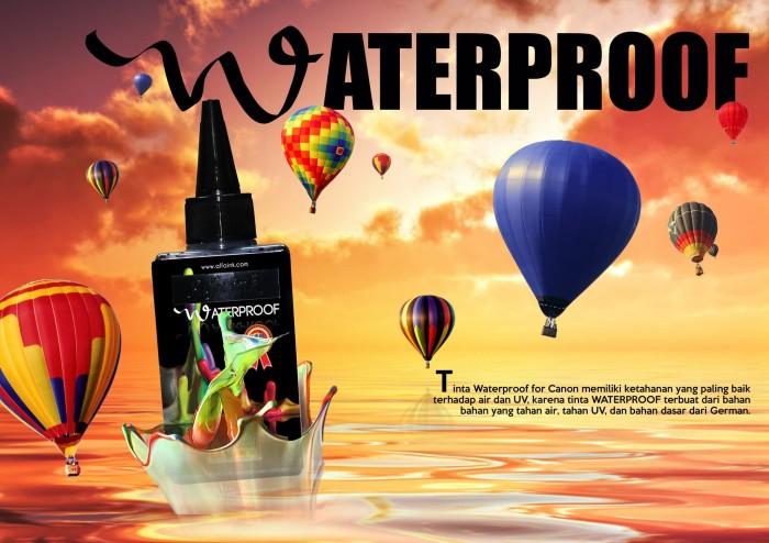Foto Produk Tinta Waterproof Alfaink - Hitam dari ALFAINK