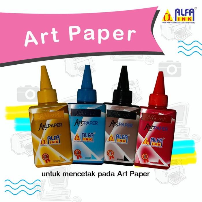 Foto Produk Tinta Art Paper Alfaink - Kuning dari ALFAINK