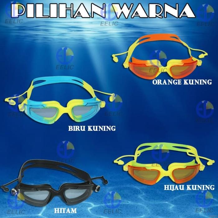 EELIC KAR-780 kuning Kacamata Renang Dewasa