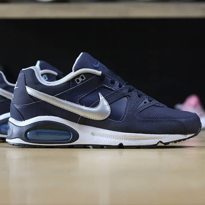cheap for discount 67e23 0f106 NIKE AIR MAX COMMAND LEATHER OBSIDIAN MET. SILVER BLUE
