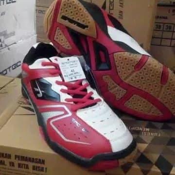 Jual Sepatu Badminton Bulutangkis Spotec Double Hit - Baby7  5654cbd8bf