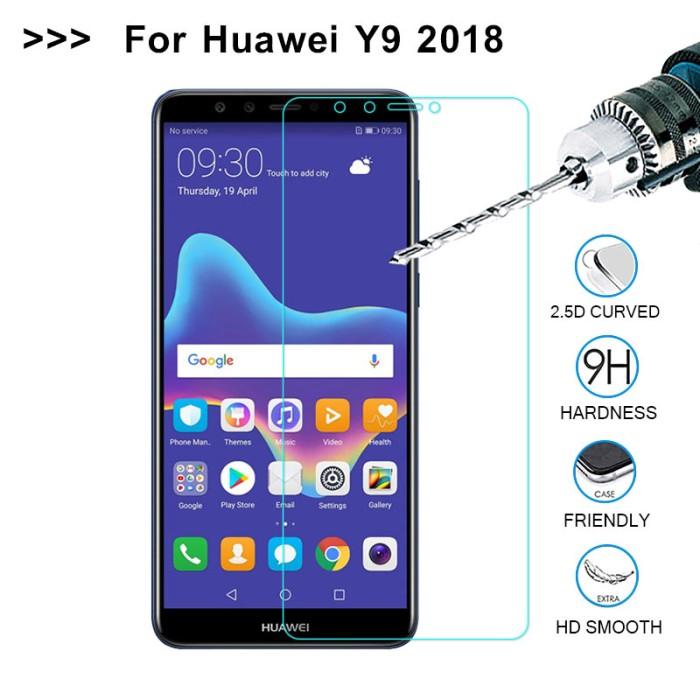 Foto Produk Tempered Glass For Huawei Y9 2018 Screen Protector Glass For Huawei P8 dari WielShoes Jakarta