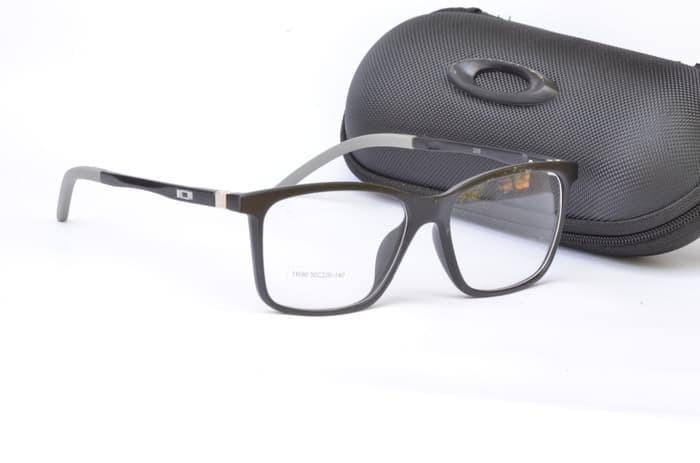 Frame Kacamata Oakley Backwind Hitam Logo Silver - Smart4K Design Ideas ac33a68001