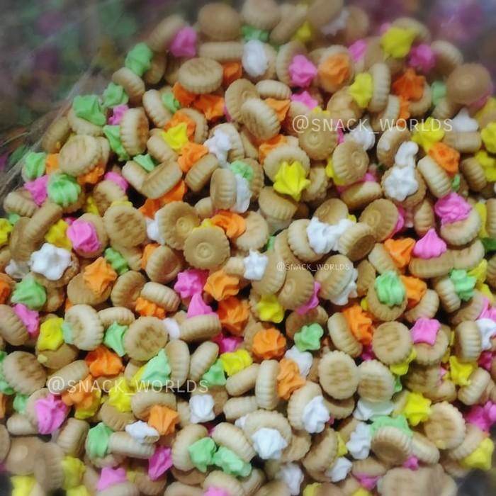 Foto Produk Biskuit Gemrose 150Gram / Kue Kancing Monas / Snack Kiloan jadul dari R_D Snack