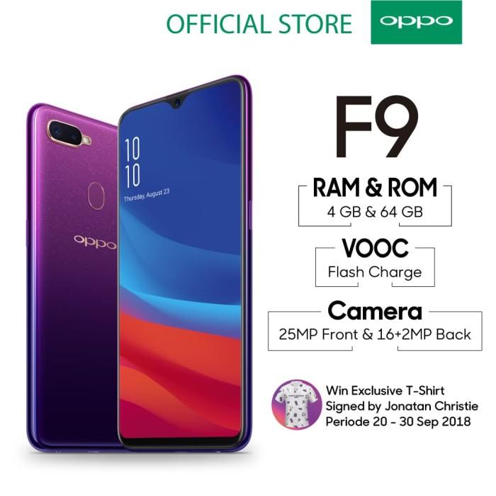 Oppo F9 Smartphone 4gb/64gb Starry Purple ( Garansi Resmi Oppo ) - Blanja.com