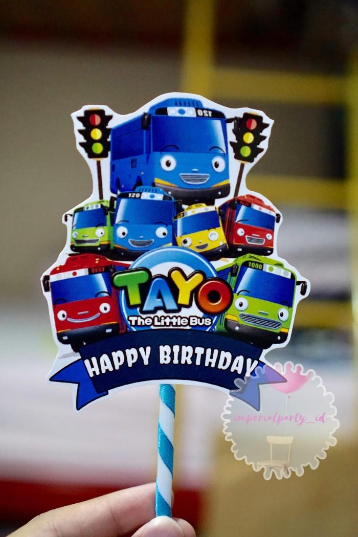 62 Gambar Tayo Happy Birthday Terlihat Keren