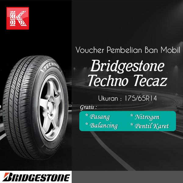 harga Ban mobil bridgestone new techno tecaz 175/65 r14 vocer Tokopedia.com