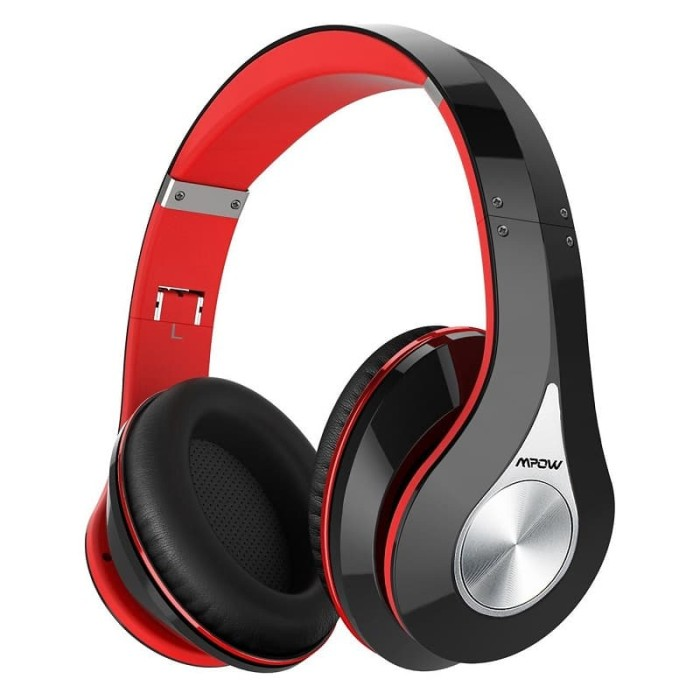 harga Mpow 059 bluetooth headphones over ear hi-fi stereo wireless headset Tokopedia.com