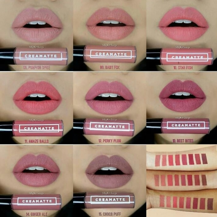 How to turn creme lipstick into matte
